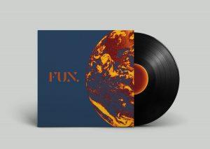 Vinyl mock up